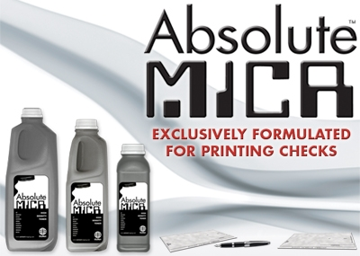 Picture of Absolute MICR™ toner for use in HP M 404, M 428 MFP, 375g (10,000 pages)