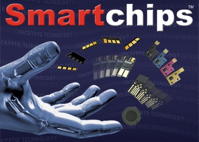 Picture of Smartchip™ Yellow for use in Brother HL 4200 CN, (worldwide)